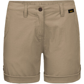 Jack Wolfskin Desert Shorts Damer, beige